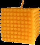 """La bougie """"cube"""""""