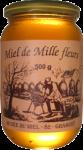 Le miel de mille fleurs - Pot de 500 gr